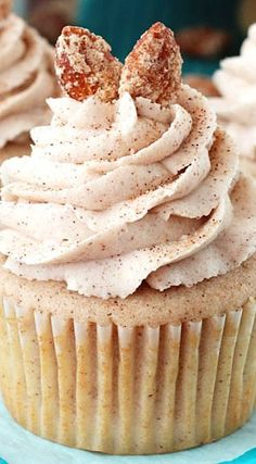 Cinnamon Sugar Almond Cupcakes