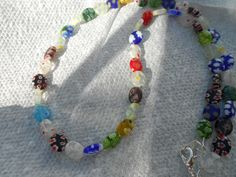 Multi Color Necklace by BeaderBubbe on Etsy, $9.95