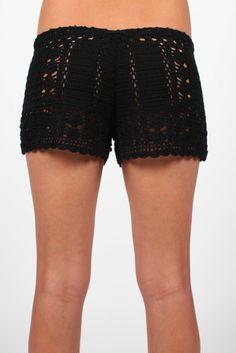 Byron Crochet Shorts