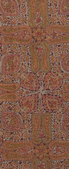 Natural Sozni Jamawar Hand Embroidered Pure Pashmina Shawl