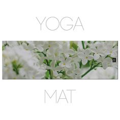 Floral Yoga Mat, White Flowers, Macro Photography, Spring Yoga, Nature Yoga Mat With Bag by Macrografiks on Etsy Yoga Mats, Macro Photography, White Flowers, Things To Come, Spring, Bag, Floral, Nature, Etsy
