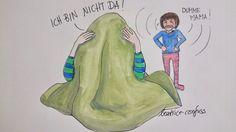 Illustration momslife  25 gute Gründe für einen Trotzanfall und warum ich mir manchmal eine Decke über den Kopf ziehen möchte