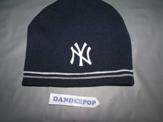 902c928c843 New York NY Yankees Logo Knit Hat New Era Acrylic Authentic Collection OSFA   NewEra  NewYorkYankees  yankees  baseball  mlb  knithat  hat  dandeepop  Find me ...