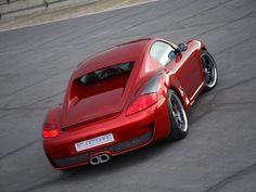 Porsche Cayman Coupe by Studiotorino #porsche #tuning