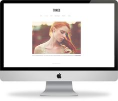 Tones - Wordpress Responsive Template - Instant Download via Etsy more on http://html5themes.org
