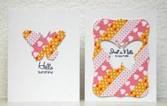 Washi Note Card Set by HeartHugsDesigns - Cards and Paper Crafts at Splitcoaststampers