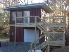 Shipping Container Homes: High Country Green Boxes, DwellBox - Boone, North Carolina - 2 x 40ft Shipping Container Home