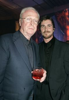 Michael Caine & Christian Bale