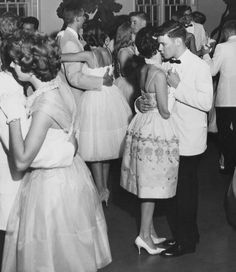 Sept. 16, 1960.  First date with Jim. High school Dance after the football game. 54yrs