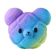 Highpot Jumbo Squishies Galaxy Bear Kawaii Squishy Slow Rising Cream Scented Stress Relief Toy for Kids/Adults Homemade Squishies, Jumbo Squishies, Animal Squishies, Cute Squishies, Toys For Girls, Kids Toys, Ibloom Squishies, Stress Relief Toys, Stress Toys