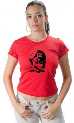 Camiseta Mario Bros - Loja de Camisetas CamisetasEraDigital #mariobros