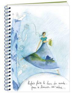 """Anne-Sophie Rutsaert cahier spirale """"Le Tour du Monde"""""""