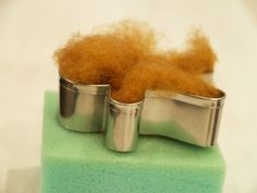 Make a Gingerbread Man Christmas Ornament :: Needle Felting Tutorial