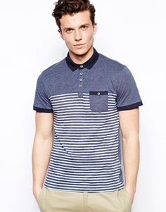 New Look Polo Shirt in Stripe