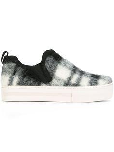 Ash chaussures de skate à motif tartan