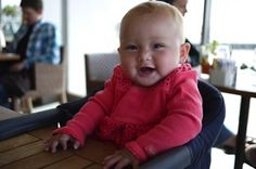 Fast Table Chair, portable baby chair, she loves it, always at the right height, she feels like she's part of the meal.