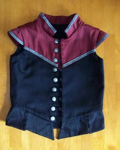 Drafting a child's doublet or bodice