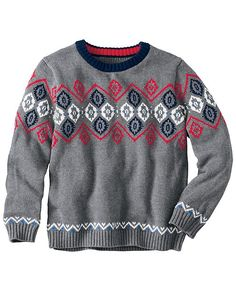 Nordic Sweater from #HannaAndersson.