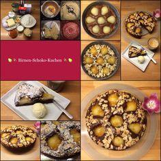 Schokolade küsst Birne … Schoko-Birnen-Kuchen … schokoladig, saftig, schnell und fein!  | Das Leben ist zu kurz, um schlechten Wein zu trinken!