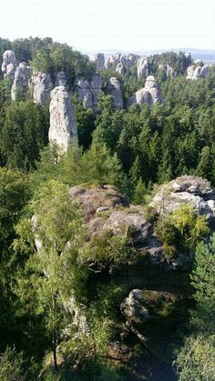 Hruboskalsko, rock city, Czech republic