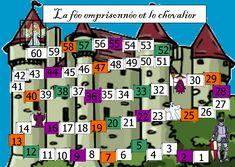 JEU de MATHS CP CE1 La FEE EMPRISONNEE et le CHEVALIER   BLOG GS CP CE1 CE2 de Monsieur Mathieu NDL
