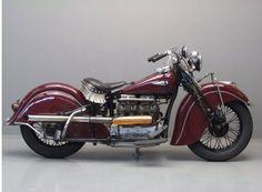 Indian 1940 Model 440 1265cc 4 cyl ioe