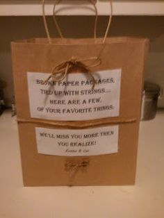 """Great going away gift for the """"no mushy crying, but instead goodbye with laughing"""" kinda guy."""