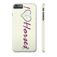 Equestrian Accessories - I Love Horses - iPhone and Galaxy Cases
