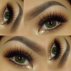 Lashes and Brow Powder in Granite