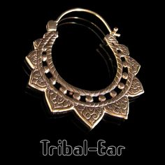 Earrings Piercing Tribal Ear Sunn dots ethnic woman Jewelry bijoux femme cadeau