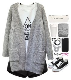"""NC 8"" by emilypondng ❤ liked on Polyvore featuring Sennheiser, E L L E R Y, H&M and newchic"