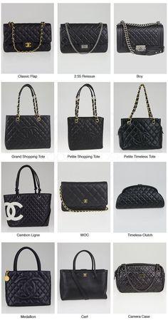 d33c3f4c3b55 Chanel Classic Reference Chart  classichandbags Chanel Earrings Classic