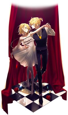 I hate Rin x Len, but this picture is very beautiful (song : Adolescence 💛) Len Y Rin, Kagamine Rin And Len, Kaito, Hatsune Miku, Anime Siblings, Cute Anime Couples, Anime Love, Anime Guys, Suki