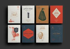 Nice restaurant branding for Little Jimmy, designed by One Design . Nice typographic details and beautiful unexpected colour palette and il...