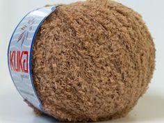 Lot of 8 Skeins KUKA SHORT PUFFY (100% Microfiber) Hand Knitting Yarn Camel | eBay