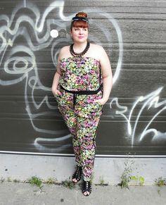 Entre Montréal et New York: Jumpsuit fever (Part 2 of 4) / La fièvre du... New York, Outfit Of The Day, Jumpsuit, Plus Size, Pants, Outfits, Clothes, Fashion, Today's Outfit
