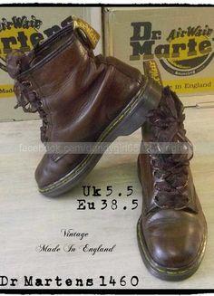 Dr Martens 1925 Vintage Made In England ☠ Dr. Martens