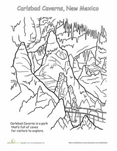 Celebrate National Parks with these inspiring coloring