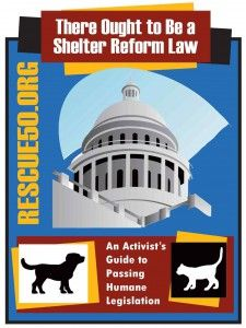 Companion Animal Protection Act: Too many shelters are not voluntarily implementing the No Kill Equation. As a result, animals are being needlessly killed. In response, the No Kill Advocacy Center has developed model legislation to help animal lovers and animal advocates achieve their goal of No Kill communities: The Companion Animal Protection Act.