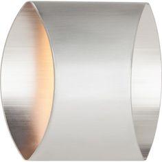 Applique Spock, 1 x 33 W, métal argenté, BRILLIANT