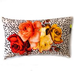 Beautiful velvet cushions with stories to tell! These Damascene roses with charming polka dots pattern designed by Rana Salam are so unique. A taste of the Middle East in any interiors Velvet Cushions, Kitchen Gifts, Cotton Velvet, Middle East, Digital Prints, Polka Dots, Roses, Tapestry, Interiors