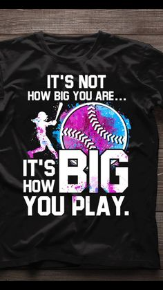 - Funny Sport Shirt - Ideas of Funny Sport Shirt - Softball Tshirts, Softball Drills, Softball Quotes, Softball Players, Girls Softball, Fastpitch Softball, Baseball Shirts, Sports Shirts, Softball Cheers