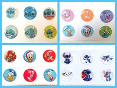 24x Disney Home Button Stickers for iPhone/iPad/iPod (4packs) iPhone6 5 4