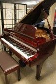 Red Mahogany Samick Baby Grand Piano 1989 $4500. See Video Tour here: http://sonnyspianotv.com/piano-gallery/546/red-mahogany-samick-baby-grand-piano-1989-4500
