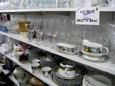 Learn how to start a thrift store business to make some extra money. Originally published as