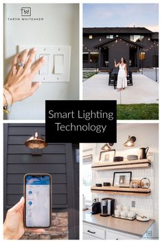 Learn how to update your home with smart home lighting! We are LOVING the outdoor smart home plug that turns out outdoor lights on and off! Element Lighting, Dim Lighting, Outdoor Lighting, Smart Dimmer Switch, Outdoor Outlet, Dark House, All Of The Lights, String Lights Outdoor, Marketing Professional