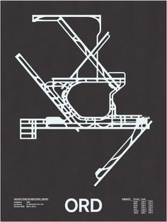 Chicago OHare - ORD Map