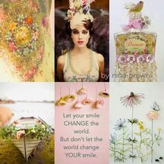 Nina Brown Style Coach ~ South Africa via Facebook Something Beautiful, Life Is Beautiful, Small Garden Features, Color Collage, Beautiful Collage, Color Quotes, Collages, Special Quotes, Colour Board
