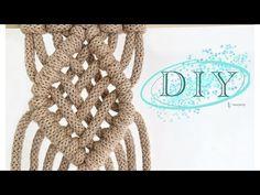 DIY macrame, splot makrama zrób to sam - YouTube Handicraft, Macrame, Modern, Youtube, Diy, Craft, Trendy Tree, Bricolage, Arts And Crafts