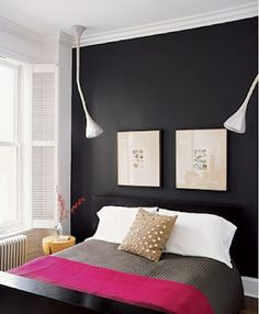 #paint one wall darker in a room